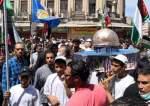 بالصور.. انطلاق مسيرة في دمشق إحياء ليوم القدس العالمي