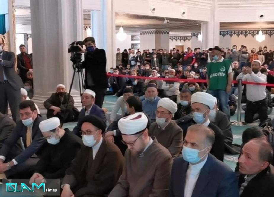 Russian Muslims Express Solidarity with Palestinian People on Quds Day