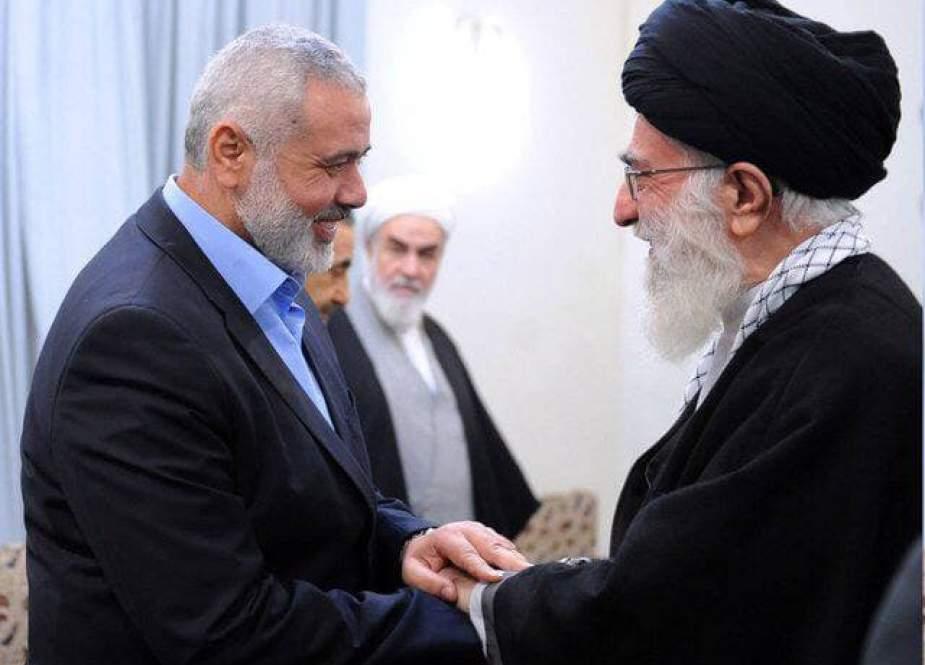 هنية يطالب يبعث رسالة إلى السيد الخامنئي يطالب بتحشيد البلدان الإسلامية ضد إسرائيل