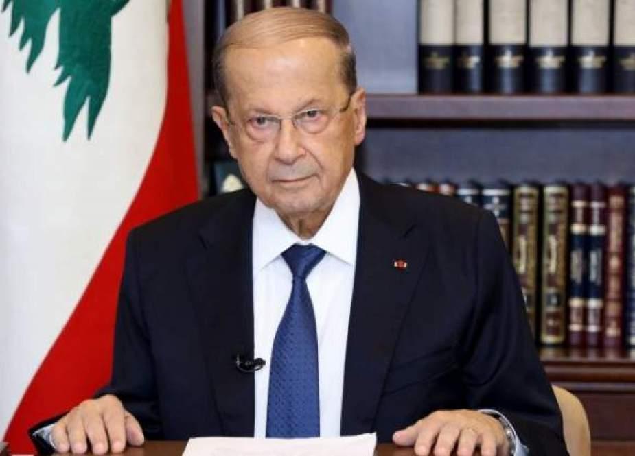 Michel Aoun, President of the Lebanon Republic.jpg