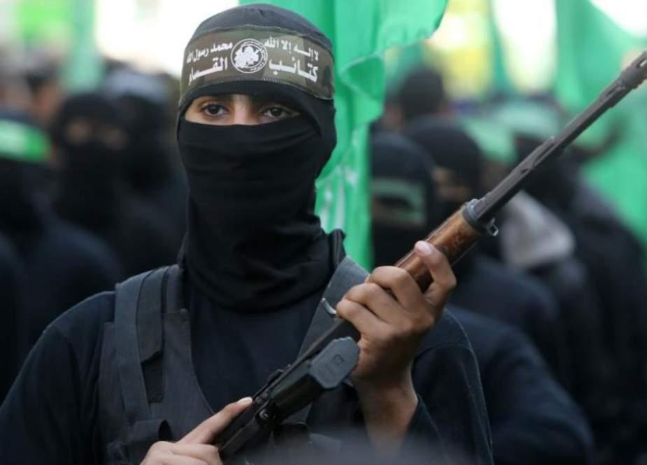 Izz ad-Din al-Qassam Brigades, military wing of Hamas resistance group.
