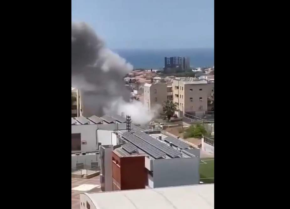Palestinians aAccurately hit buildings