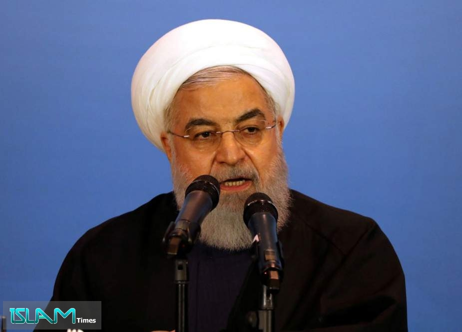 Rouhani Slams Muted Response from Muslim States to Israeli Crimes