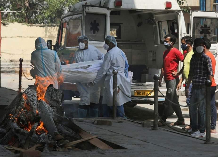 بھارت، مزید 3 لاکھ سے زائد افراد کورونا سے متاثر