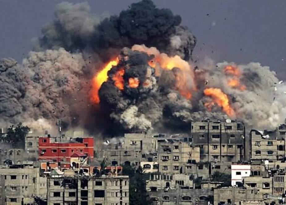 Zionis Melanjutkan Kejahatan Mereka Di Gaza