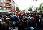 Hundreds March through Germany's Capital in Solidarity with Palestinians