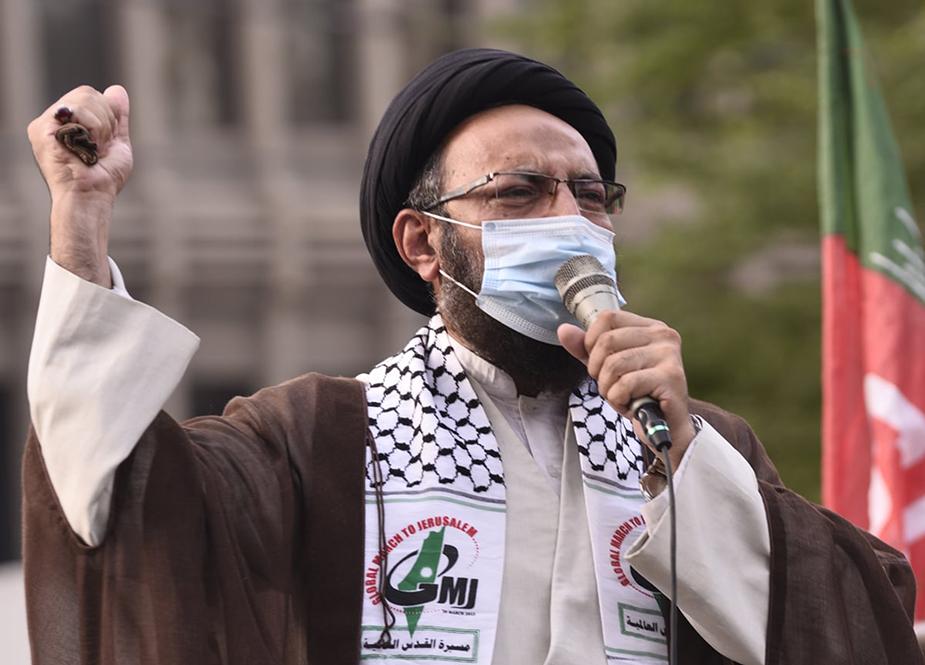 آئی ایس او کراچی کی مردہ باد امریکہ و نامنظور اسرائیل ریلی، اسرائیلی جارحیت اور فلسطینیوں کی نسل کشی کی شدید مذمت