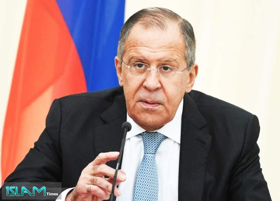 Lavrov: Attacks on Civilian Palestinian Sites Unacceptable