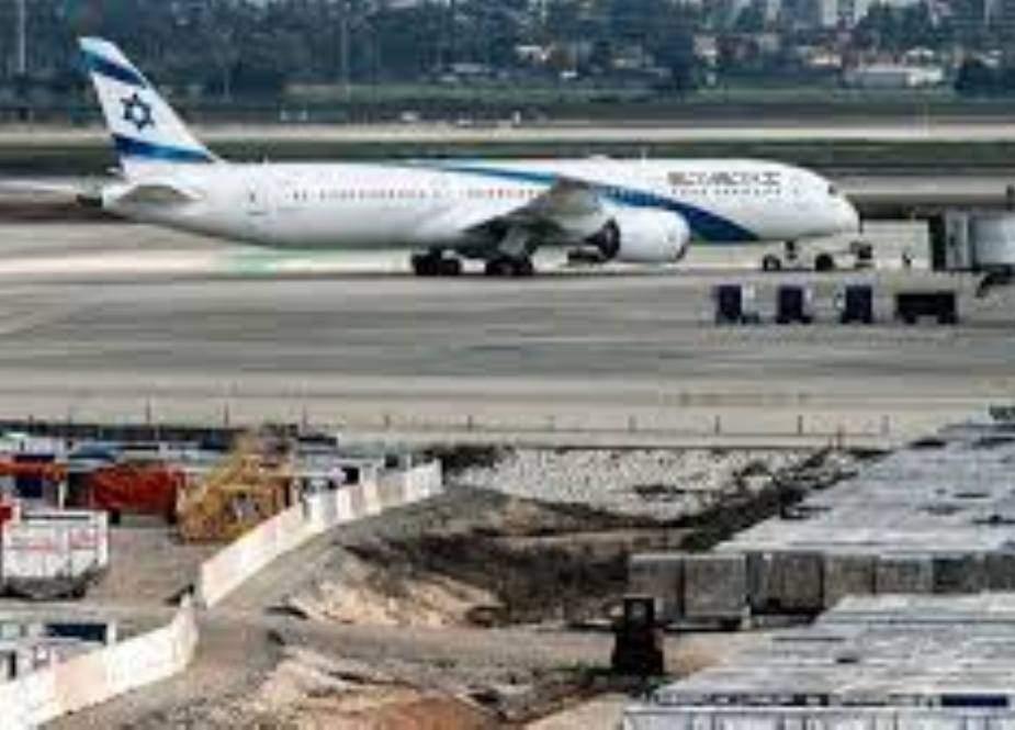 اسرائیل کا جنگی جنون، تل ابیب ائیرپورٹ سنسان