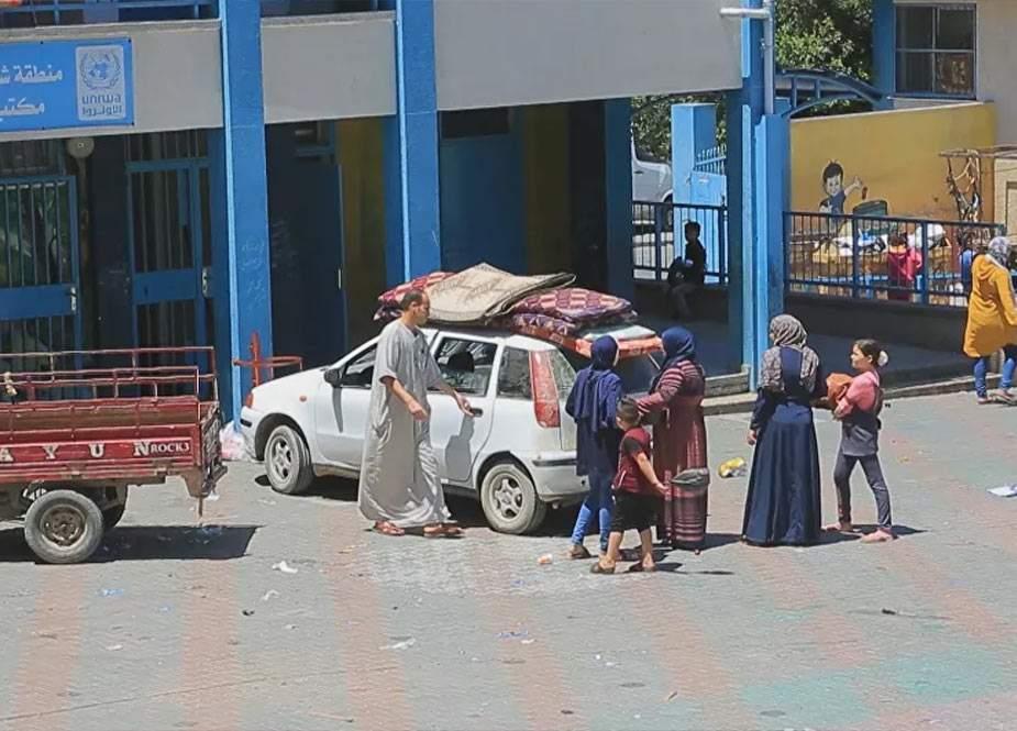 İsrailin Qəzzaya hücumu nəticəsində 34 min insan BMT-nin obyektlərinə sığınıb