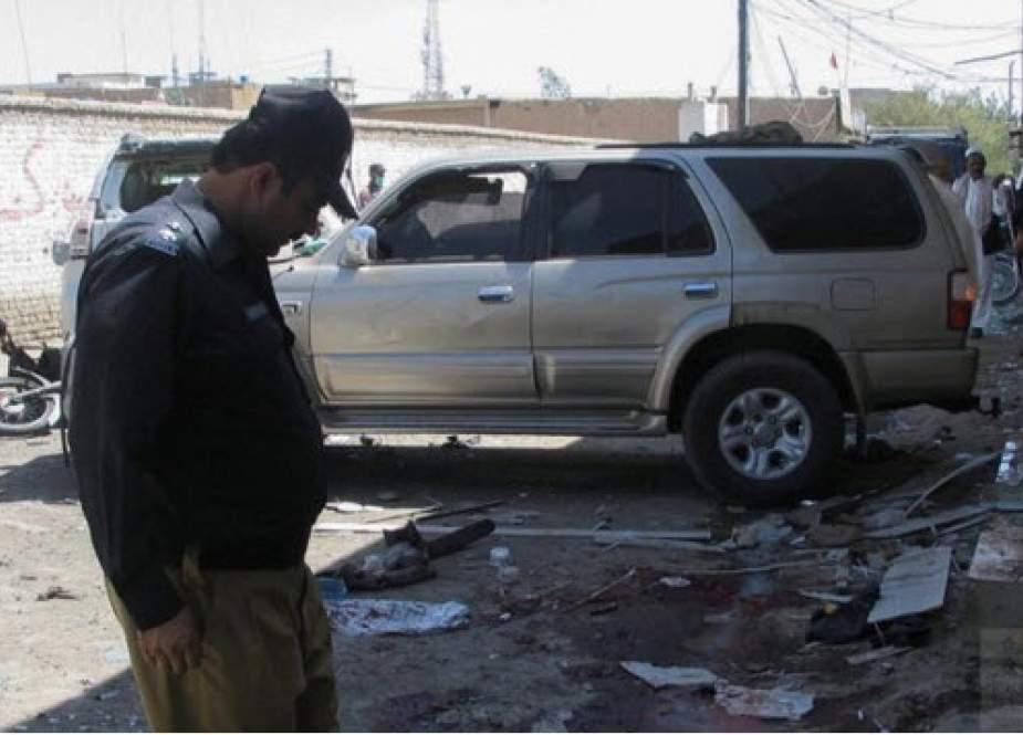 انفجار بمب در شهر مرزی پاکستان/ ۶ تن کشته شدند