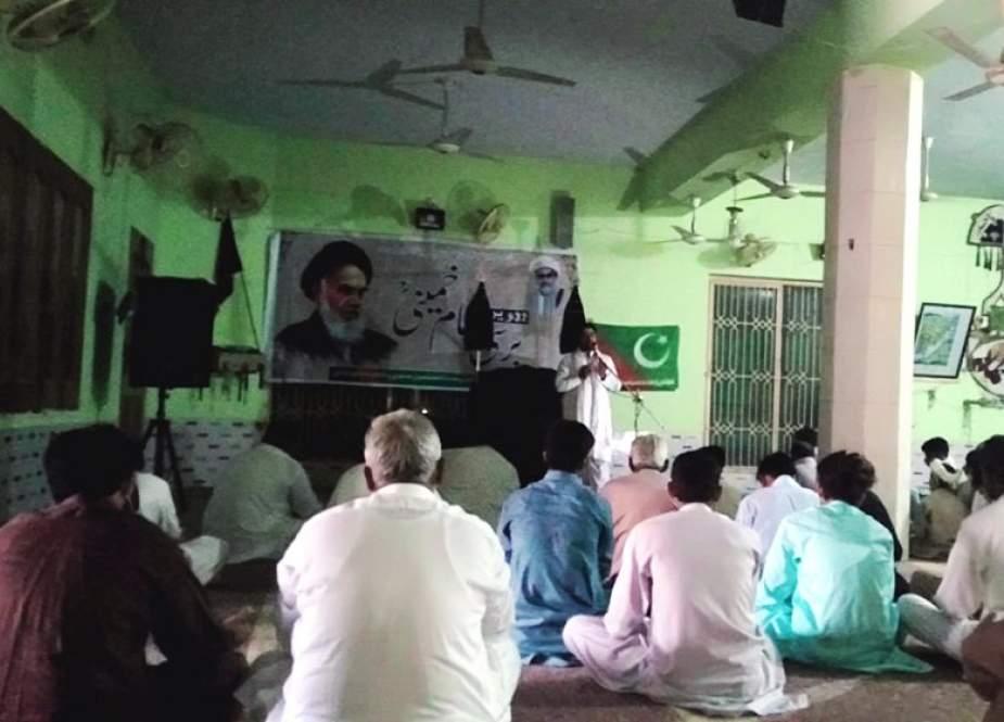 ملتان، ایم ڈبلیو ایم کے زیراہتمام بانی انقلاب امام خمینی رحمتہ اللہ علیہ کی برسی کا اہتمام