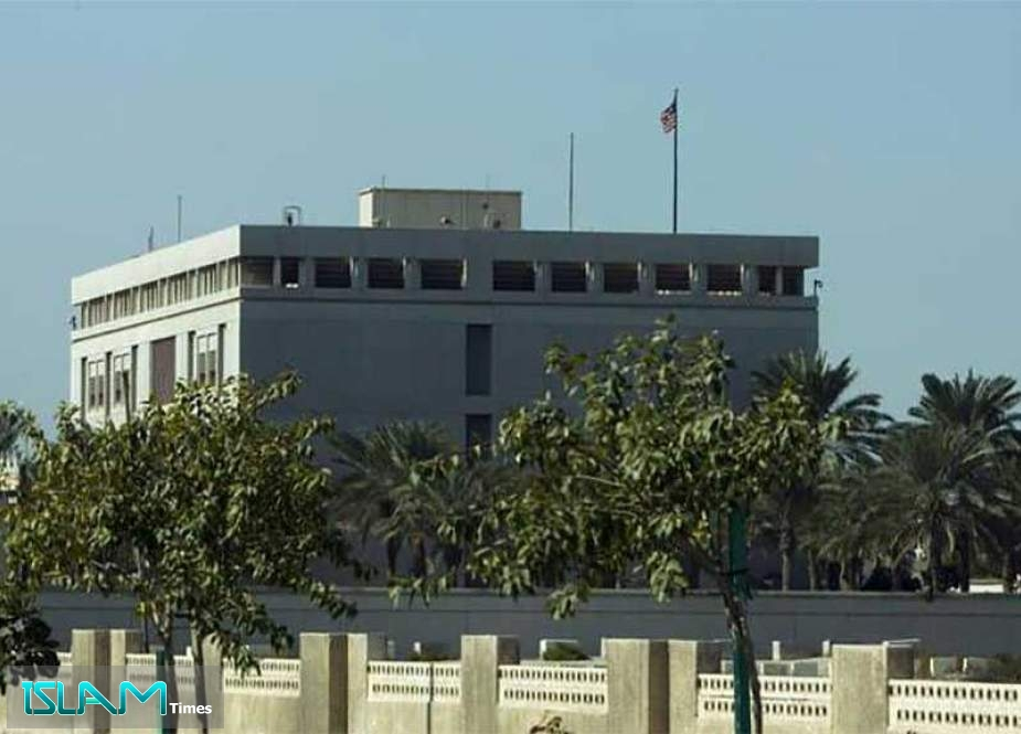 Bahraini Opposition Condemns Raising Unconventional Flag over US Embassy
