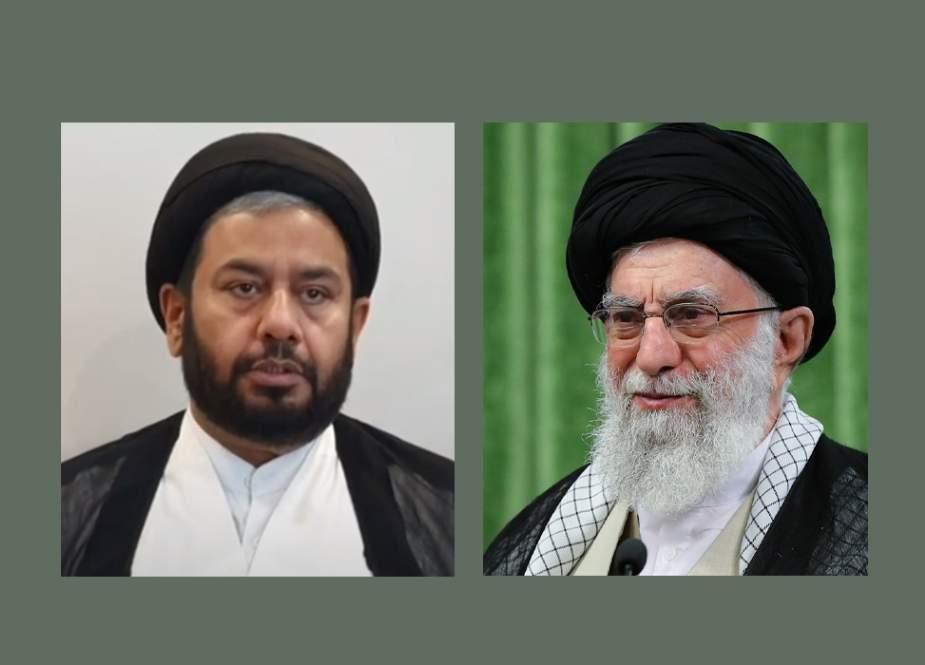 وفاق المدارس الشیعہ پاکستان کے نائب صدر کا رہبر معظم انقلاب اسلامی کے نام تعزیتی پیغام