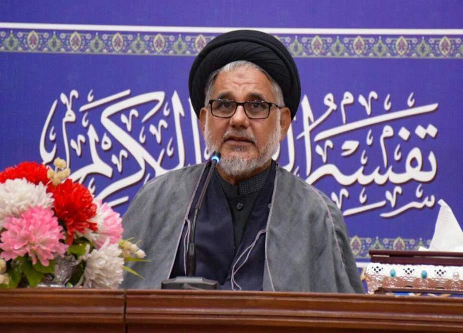 امام خمینی صدی کے عظیم مفکر، علمی و انقلابی شخصیت ہیں، علامہ حسن ظفر نقوی