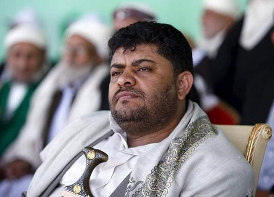 الحوثي: امريكا تضع خيار الحرب أولوية لها في اليمن في حين تتظاهر بالسلام
