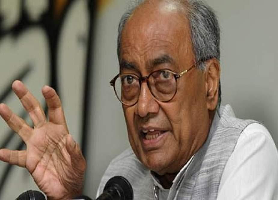 کشمیر مسئلے پر دگ وجے سنگھ کے بیان پر تنازعہ، بی جے پی کا سخت ردعمل