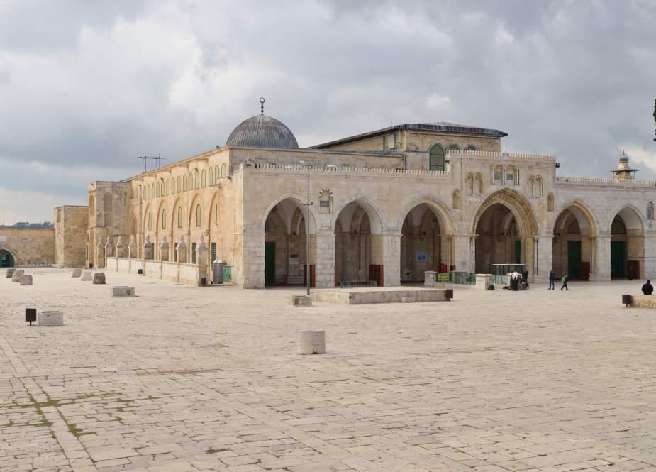 Al-Aqsa holy mosque compound, Islam
