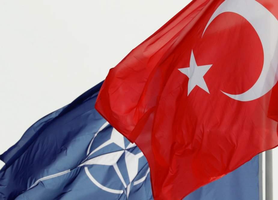 Turkey and NATO flags.JPG