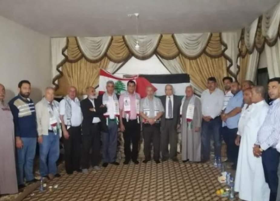 لقاء تضامني مع المقدسيين والفلسطينيين في عكار شمال لبنان