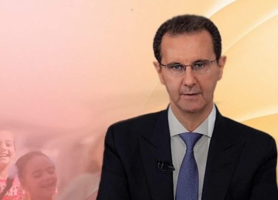 مشروع الأسد لإعادة إعمار سوريا يخترق جدار قيصر