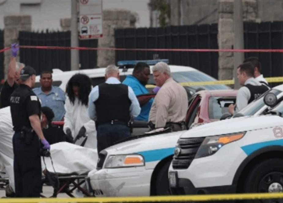 4 قتلى نتيجة إطلاق نار جماعي في ولاية شيكاغو الأمريكية