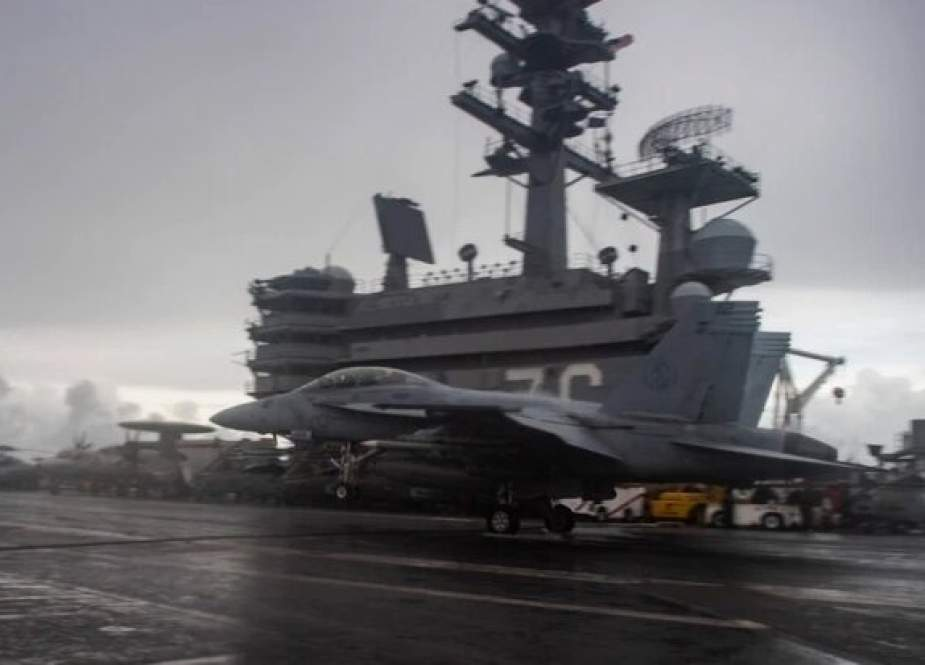 USS Ronald Reagan, has entered the South China Sea.jpg