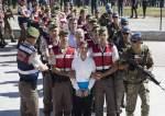 چهل و چهار  نفر به اتهام ارتباط با کودتای ۲۰۱۶ در ترکیه بازداشت شدند