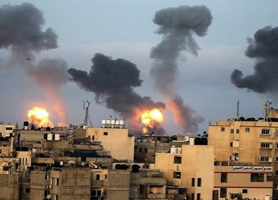 نئی اسرائیلی حکومت کے اقتدار سنبھالتے ہی غزہ پر بمباری