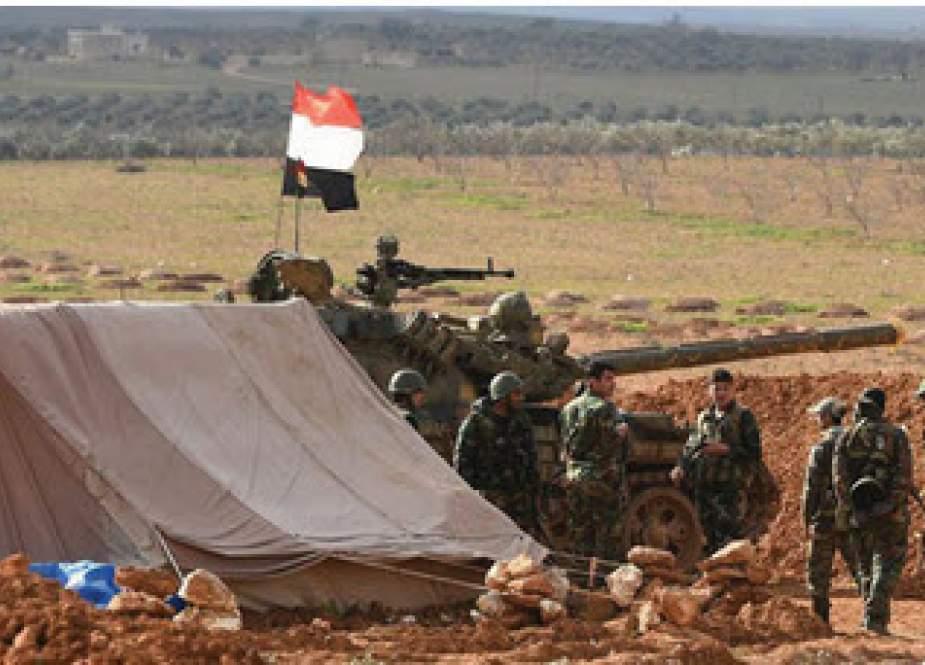 نیروی هوایی روسیه با عناصر مخفی داعش در شرق و جنوب شرق سوریه چه کرد؟