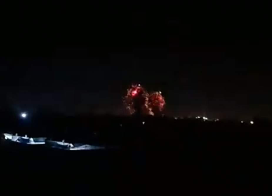 Israeli aircraft  strike targets in Gaza