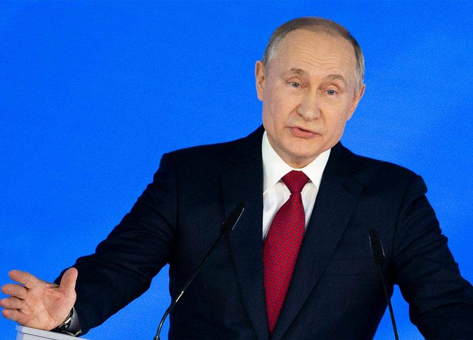 """Putin: """"Rusiya ABŞ sərhədlərinə yaxın hərbi təlimlər keçirmir, amma amerikalılar bunu edir"""""""