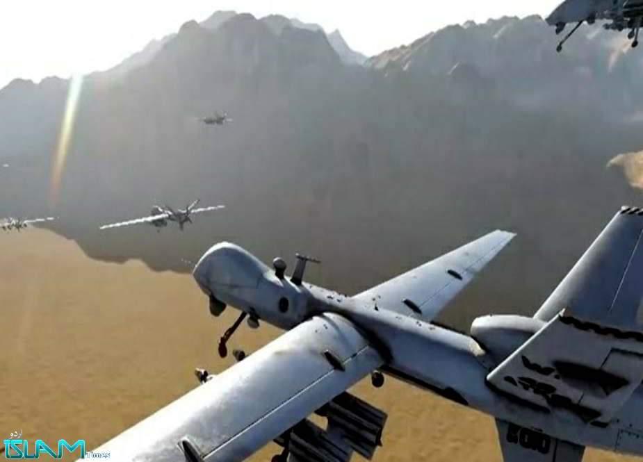 جارح سعودی ایئربیس پر یمنی ڈرون طیاروں کا وسیع حملہ