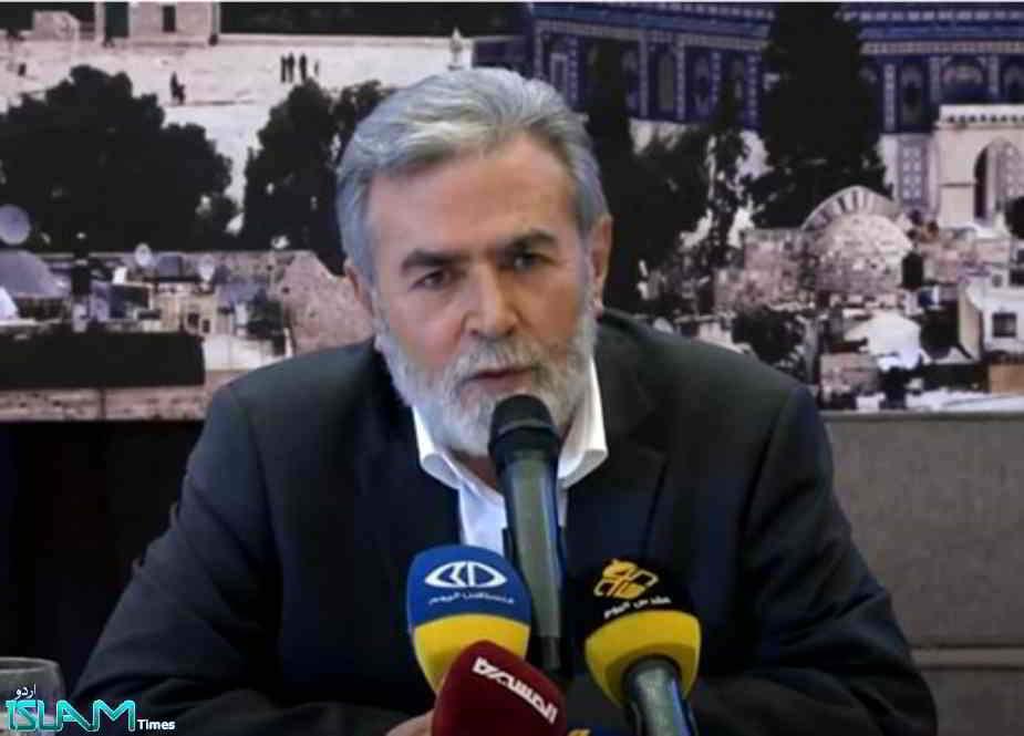 اگر غاصب صیہونی رژیم میں جرأت ہوتی تو وہ غزہ پر زمینی حملہ بھی کرتا، زیاد النخالہ