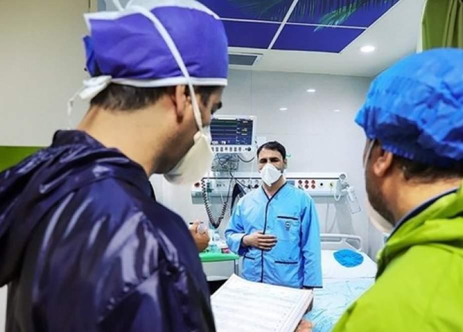 الصحة الايرانية: انخفاض الاصابات بفيروس كورونا