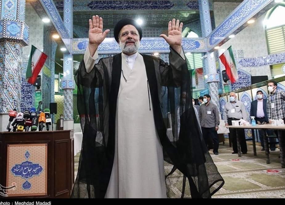Ebrahim Raeisi, is leading the presidential poll in Iran