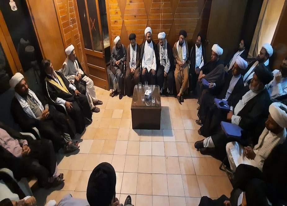 ایم ڈبلیو ایم کل محکمہ اوقاف کے باہر احتجاج کرے گی، علامہ اسدی