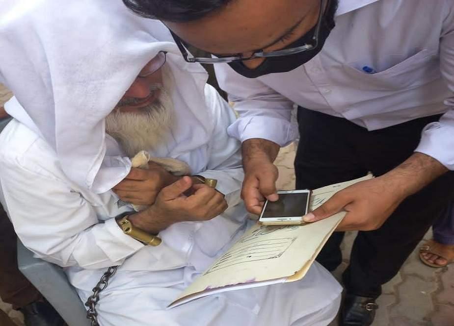 کالعدم تحریک لبیک کی مجلس شوریٰ کے سینیئر رکن حفیظ اللہ علوی گرفتار