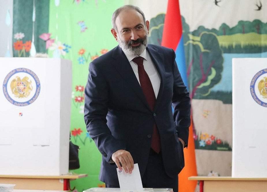 Ermənistanda səslərin sayılması başa çatıb, Paşinyan qalib gəlib