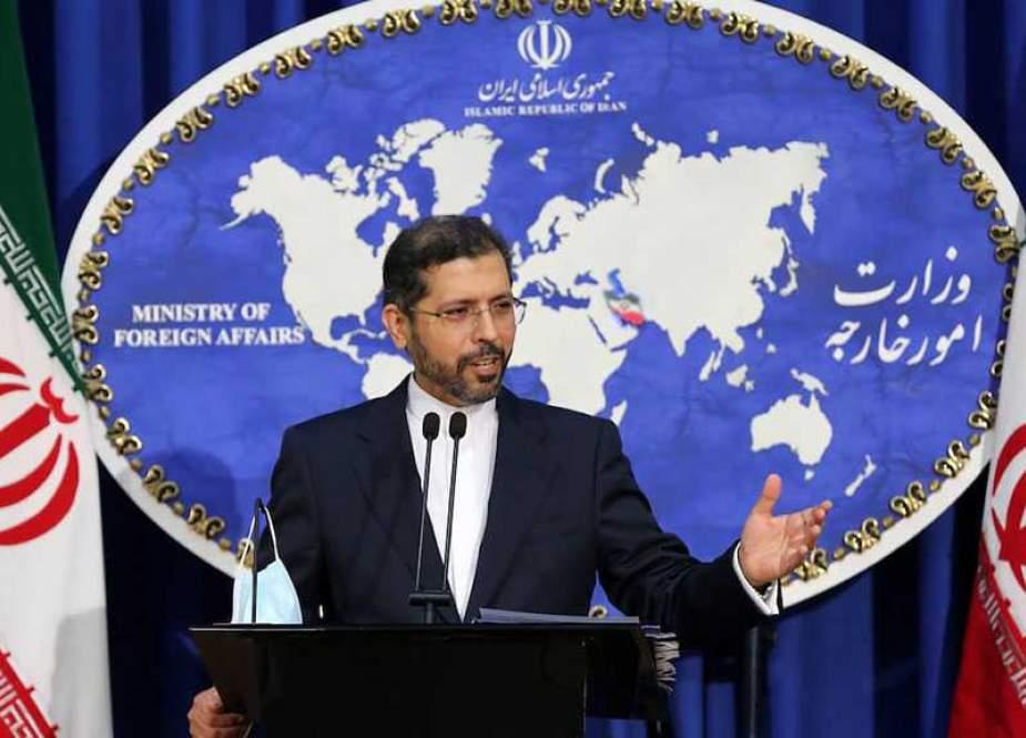 Saeed Khatibzadeh, Iranian Foreign Ministry spokesman.jpg