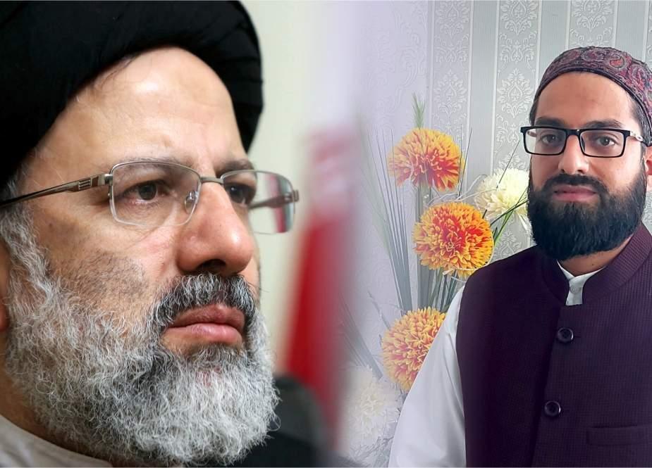 سید ابراہیم رئیسی کا صدر بننا ایرانی عوامی کی استعمار کیخلاف سنہری جیت ہے، وسیم رضا کشمیری