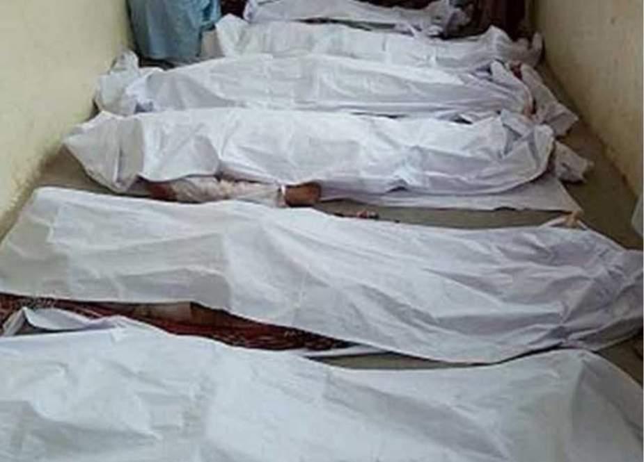 پشاور، ایک ہی خاندان کے 7 افراد قتل
