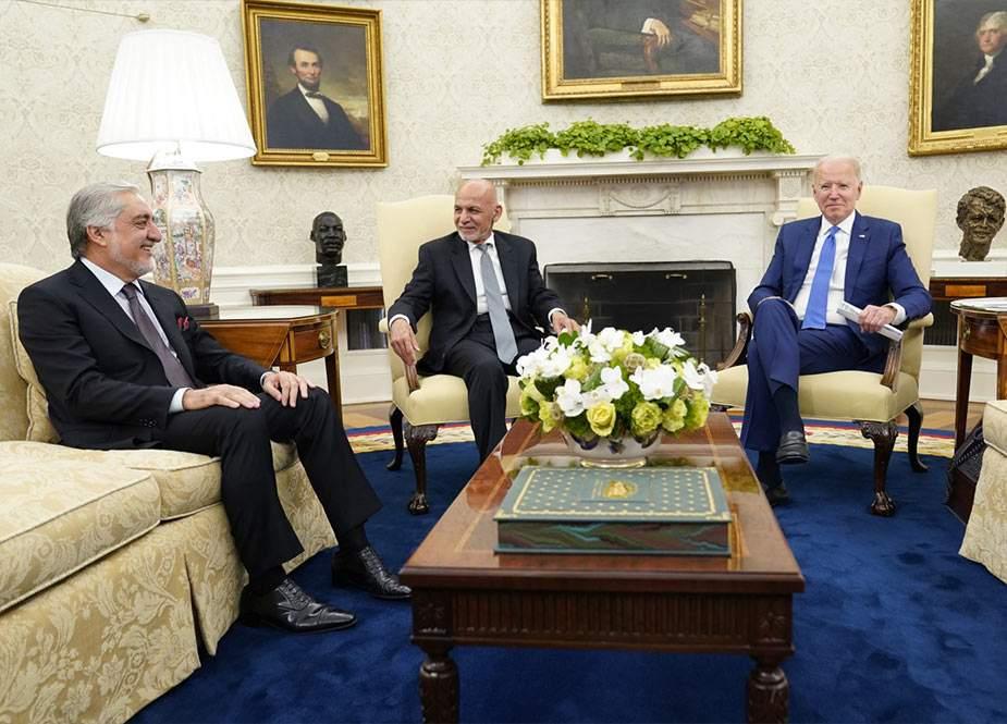 ABŞ-da Əfqanıstan prezidentinin iştirakı ilə görüş keçirildi