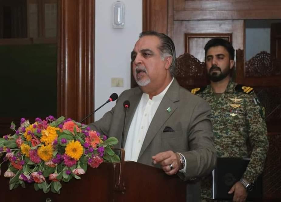 کراچی کی ترقی کیلئے 900 ارب روپے رکھے گئے ہیں، گورنر سندھ