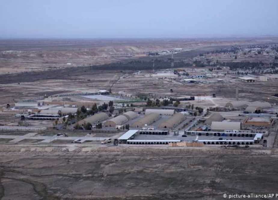 Ain Al-Asad airbase in Iraq
