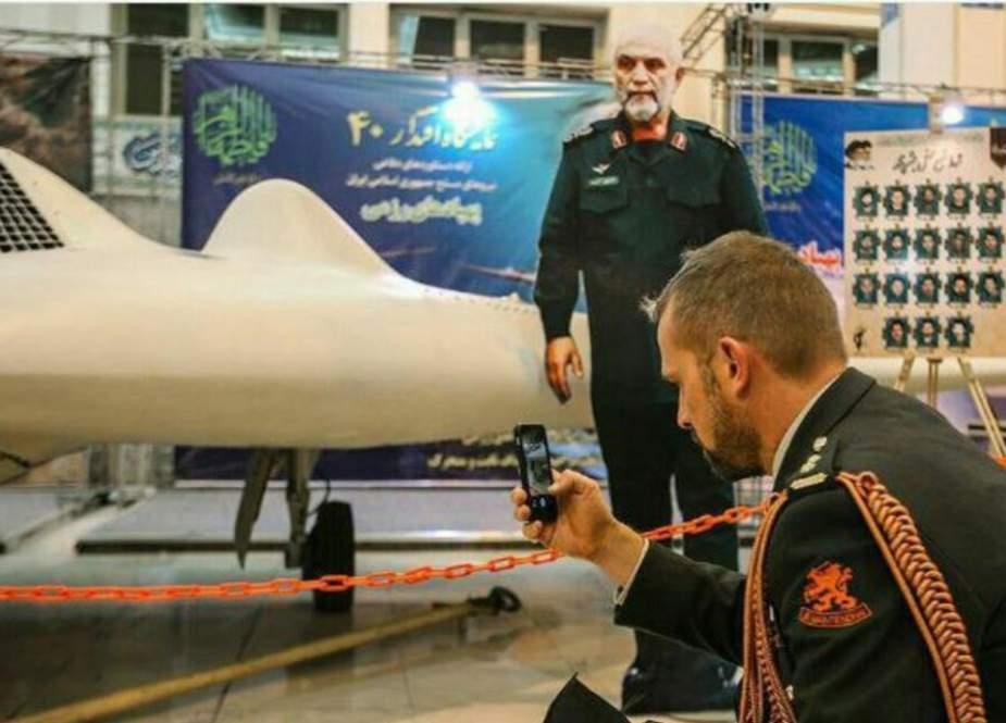 ادامه رفتارهای مشکوک وابسته نظامی هلند در ایران