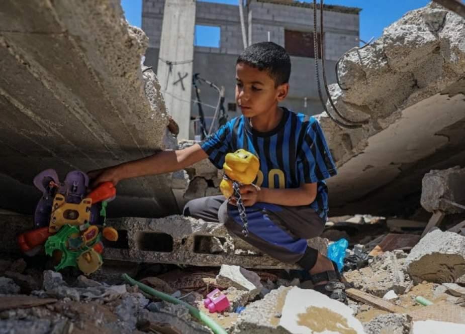 تاثیر حملات رژیم صهیونیستی بر سلامت روان کودکان و زنان در غزه