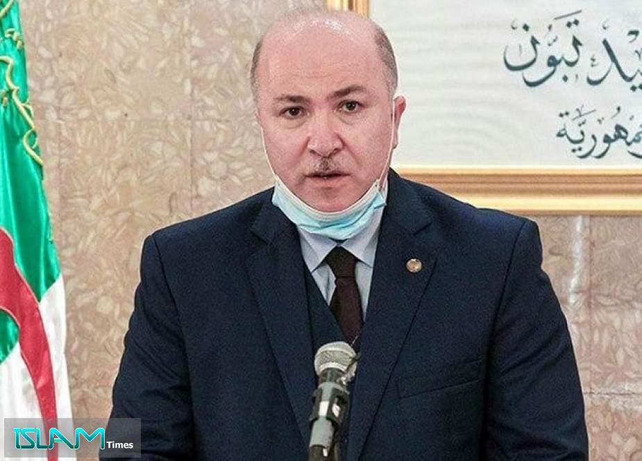Algerian Prime Minister Tests Positive for COVID-19