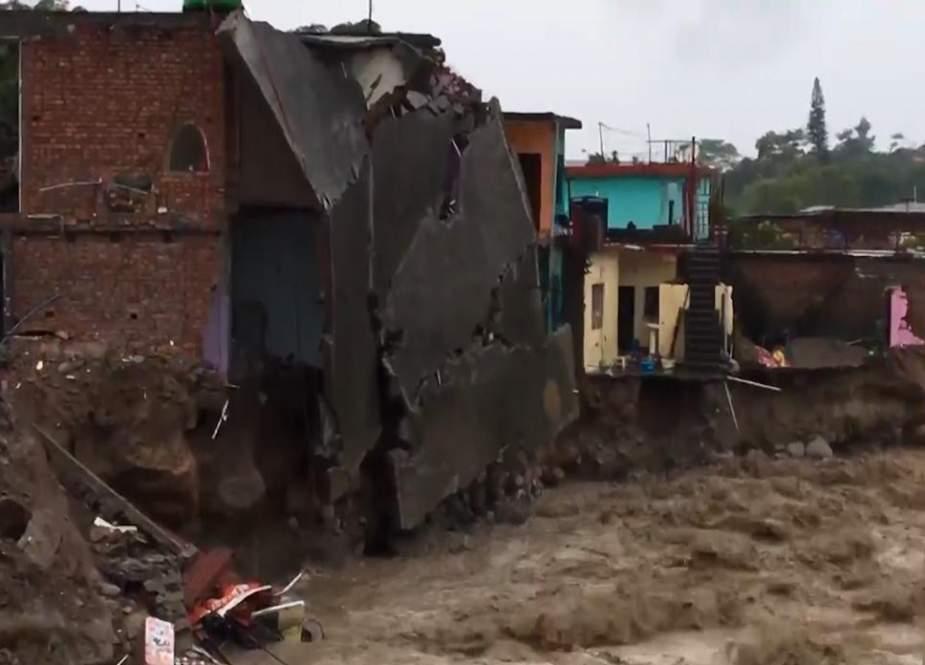 بھارت کی مختلف ریاستوں میں آسمانی بجلیاں گرنے سے 60 سے زائد افراد ہلاک