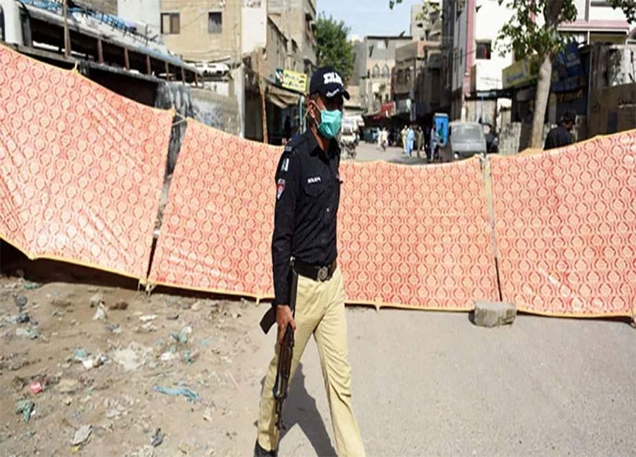 کورونا کی چوتھی خطرناک لہر، کراچی کے مزید علاقوں میں لاک ڈاؤن نافذ